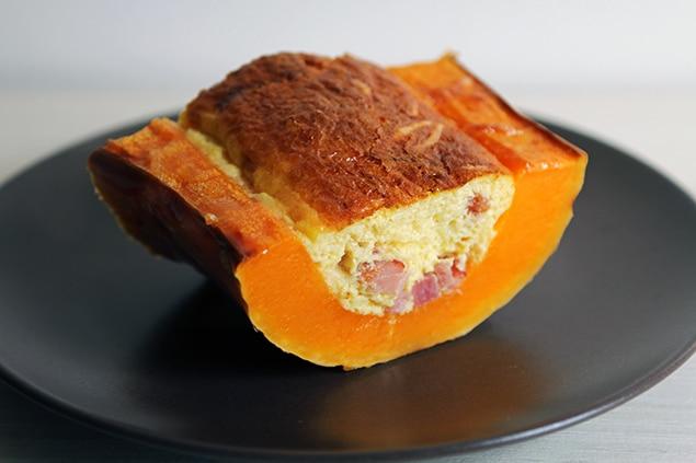 Butterquiche - Quiche dans une butternut
