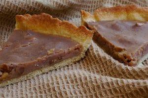 Tarte à la crème de marrons et aux noix