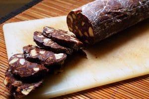 Saucisson en chocolat