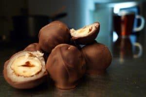 Coucougnettes en chocolat
