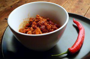 Chili con carne rapide