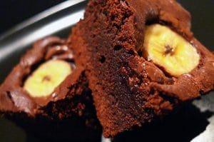 Brownie Banane-Nutella