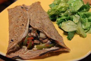 Galettes végétaliennes et sans gluten