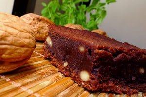 Brownie fondant